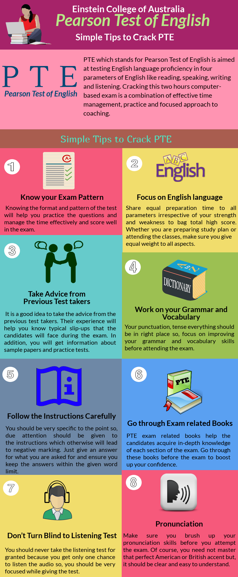 Simple Tips to Crack Pearson Test of English PTE Test